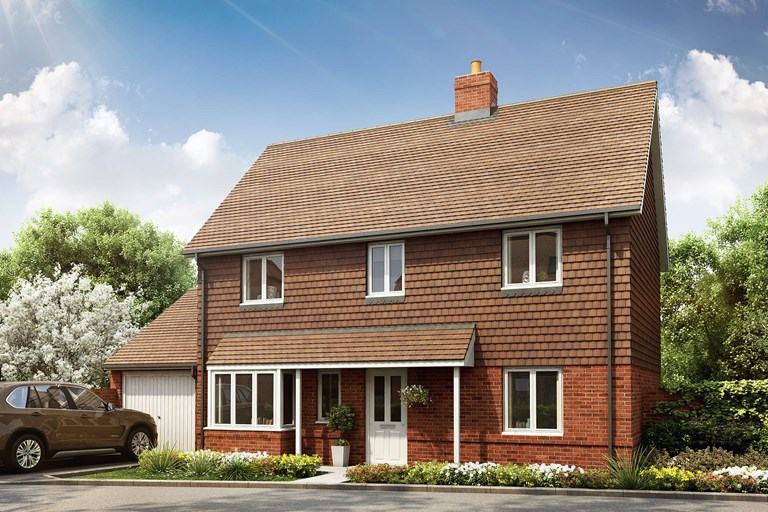 New Detached Home In Stone Cross East Sussex From Bellway Homes