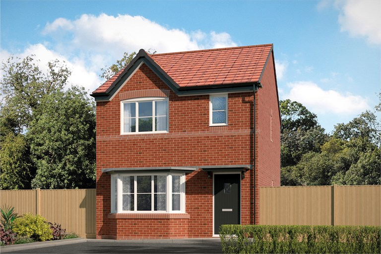 New Detached Home In Wistaston Cheshire From Bellway Homes