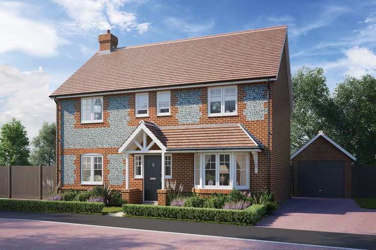 New Homes For Sale In Overton Hampshire From Bellway Homes