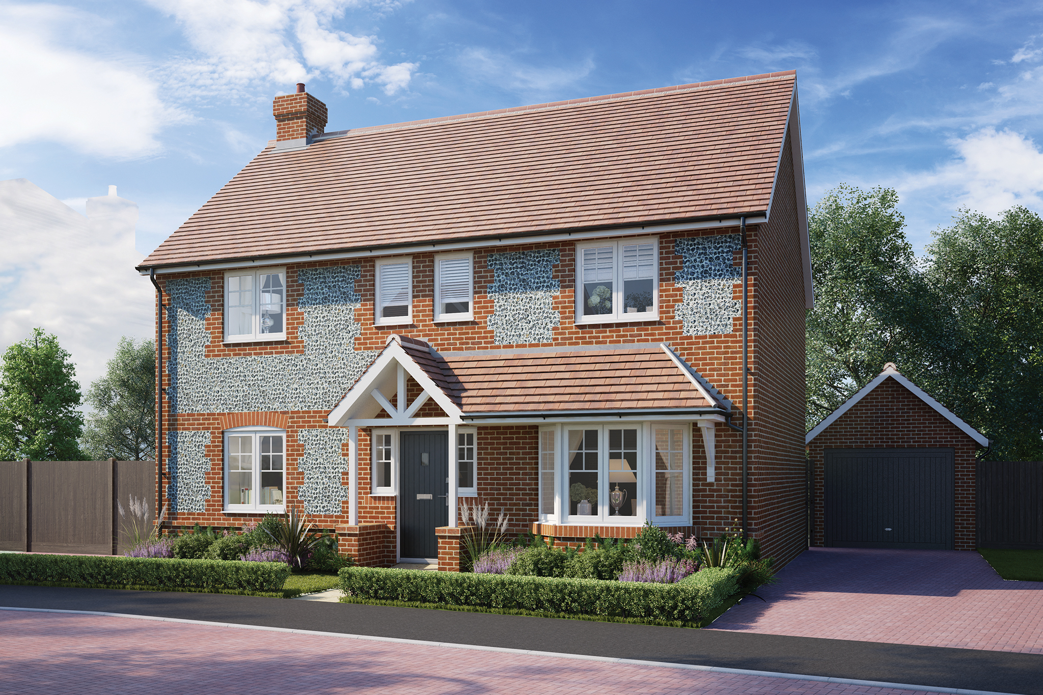 These 2, 3, 4 And 5 Bedroom Homes Covers A Range Of Semi Detached And  Detached House Styles, Certain To Appeal To First Time Buyers, Families And  Commuters.
