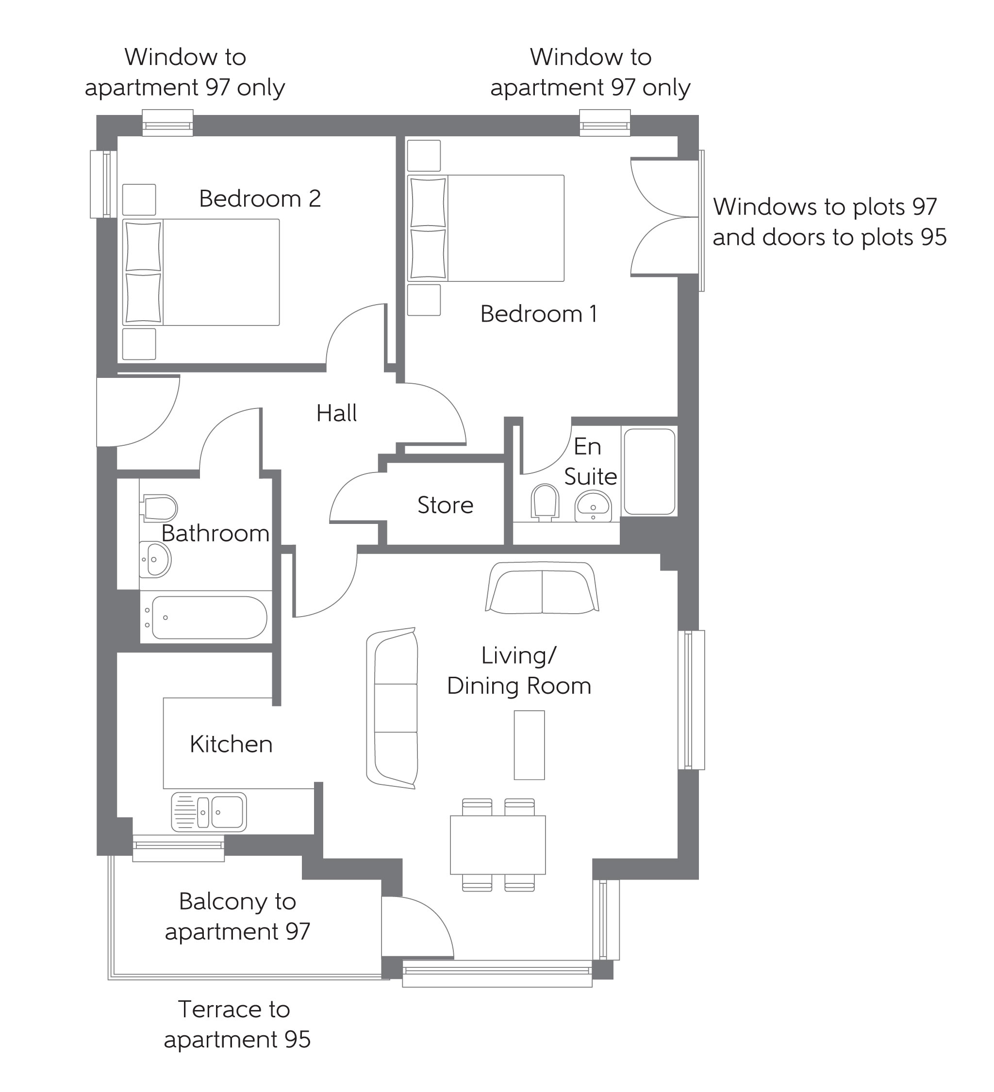 New Kent Apartments: New Apartment In Wouldham, Kent From Bellway Homes