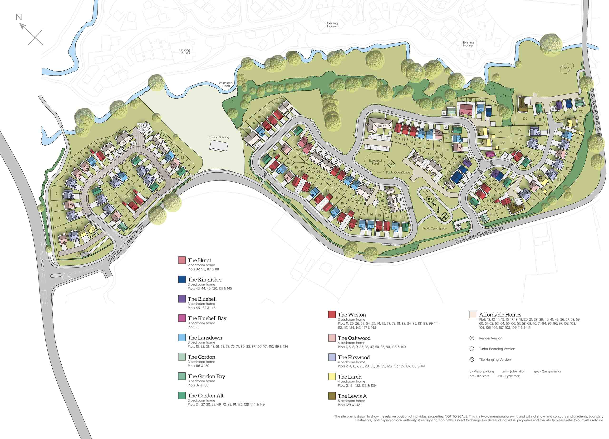 New homes for sale in Wistaston, Cheshire from Bellway Homes