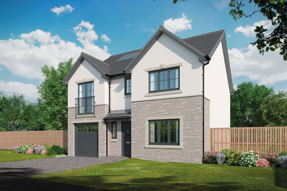 New Detached Home In Livingston West Lothian From Bellway Homes