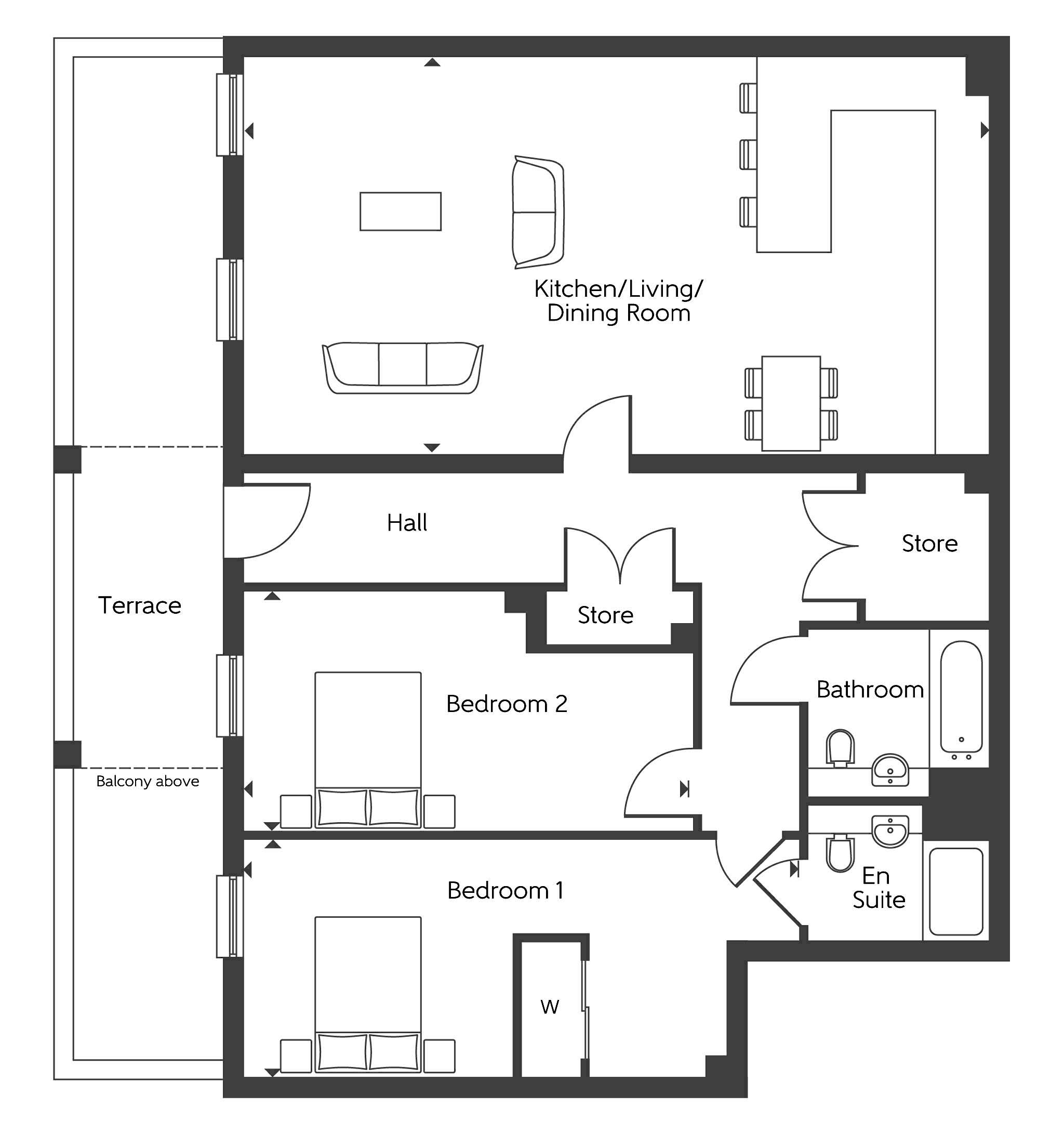 New Apartment In Dartford, Kent From Bellway Homes