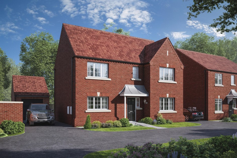 New Detached Home In Rugby Warwickshire From Bellway Homes