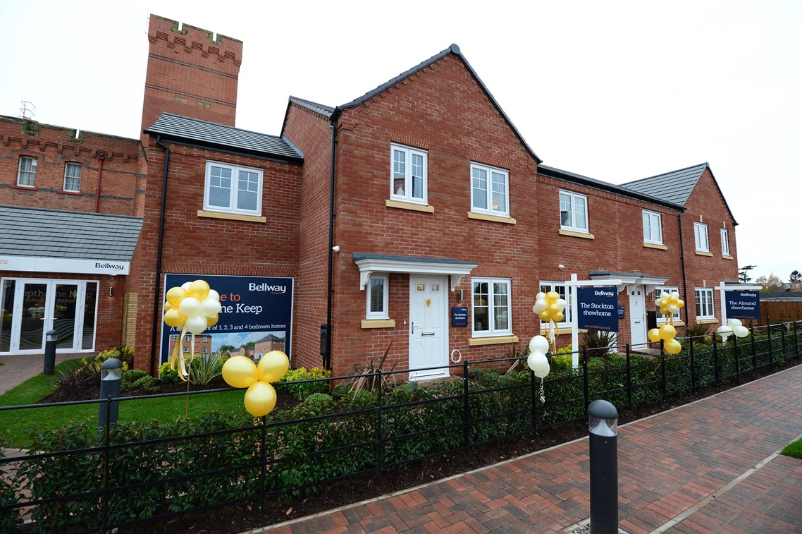 New Homes For Sale In Shrewsbury Shropshire From Bellway Homes