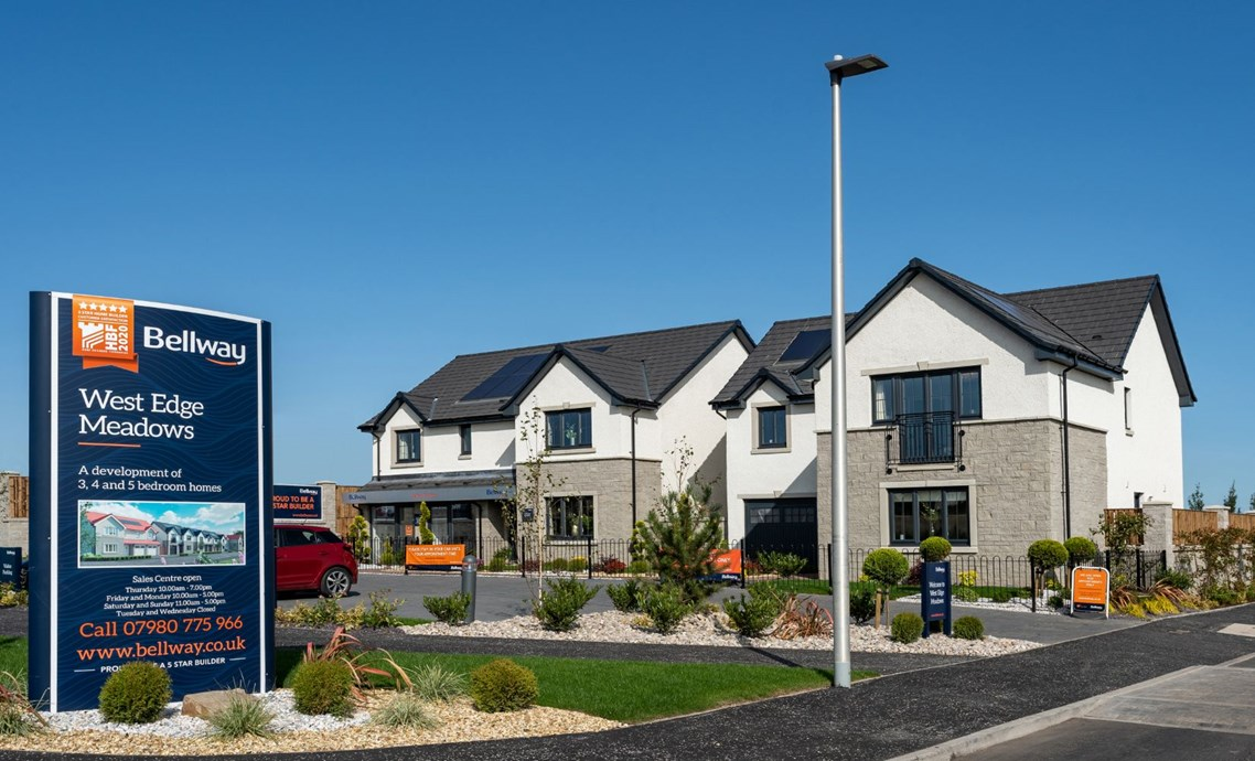 New Homes For Sale In Gilmerton Edinburgh From Bellway Homes