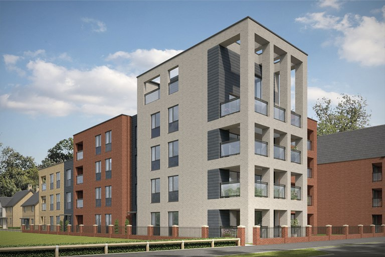 New Apartment in Milton Keynes, Buckinghamshire from Bellway Homes