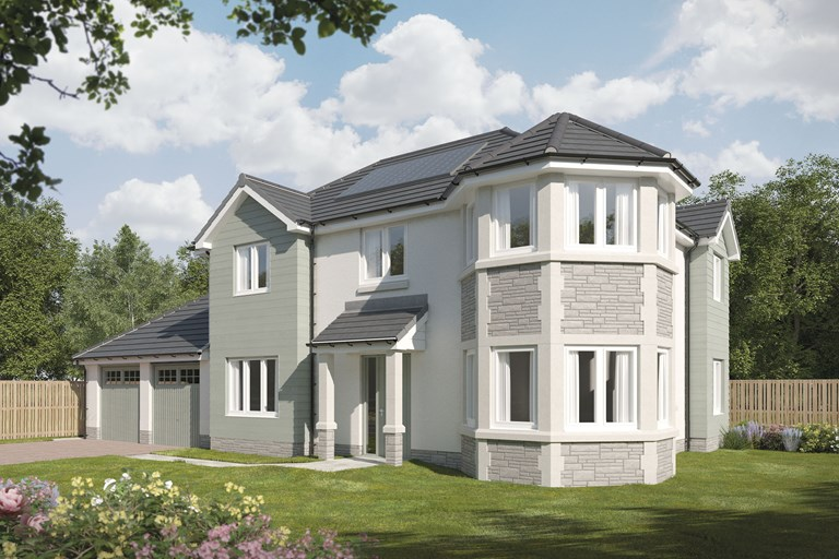 Excellent New Detached Home In East Calder West Lothian From Bellway Download Free Architecture Designs Sospemadebymaigaardcom
