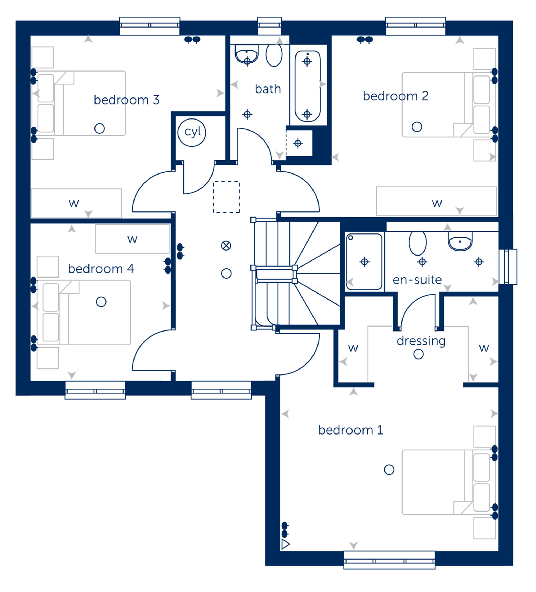 New Detached Home In Guisborough North Yorkshire From Bellway Homes