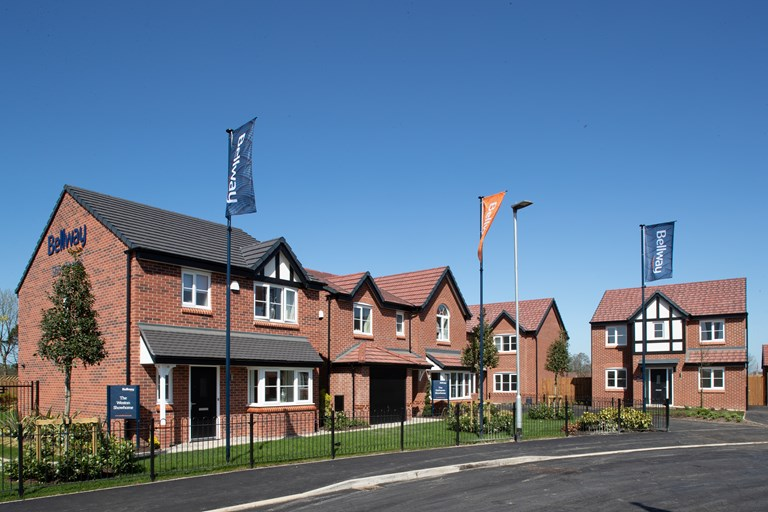 New homes for sale in Warrington, Cheshire from Bellway Homes